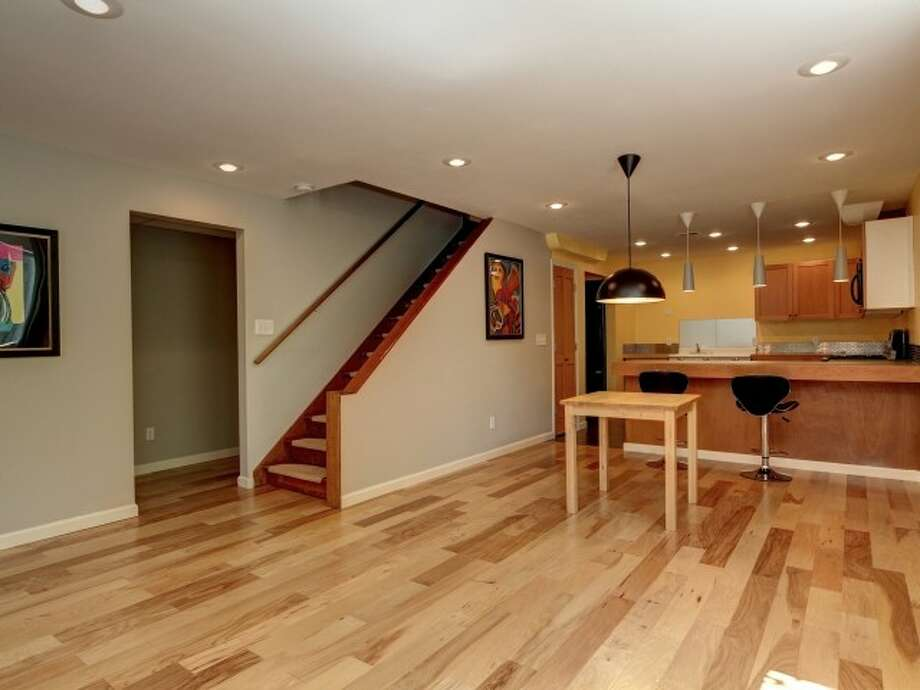 Basement of 141 N. 144th St. It's listed for $425,000. Photo: Courtesy Jeffrey Jordan, Coldwell Banker Bain