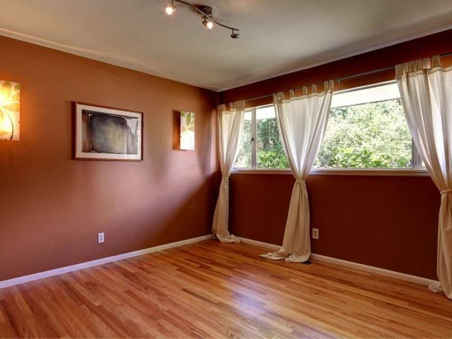 Bedroom of 141 N. 144th St. It's listed for $425,000. Photo: Courtesy Jeffrey Jordan, Coldwell Banker Bain