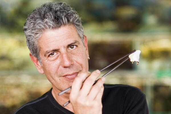 Anthony Bourdain was a chef and writer before segueing into TV on `No Reservations.'