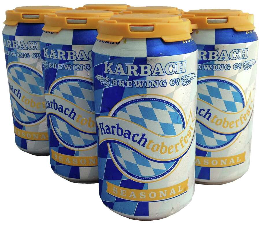 Karbach Brewing is releasing a Märzen-style Oktoberfest beer in cans for the first time this year. Photo: Karbach Brewing Co.