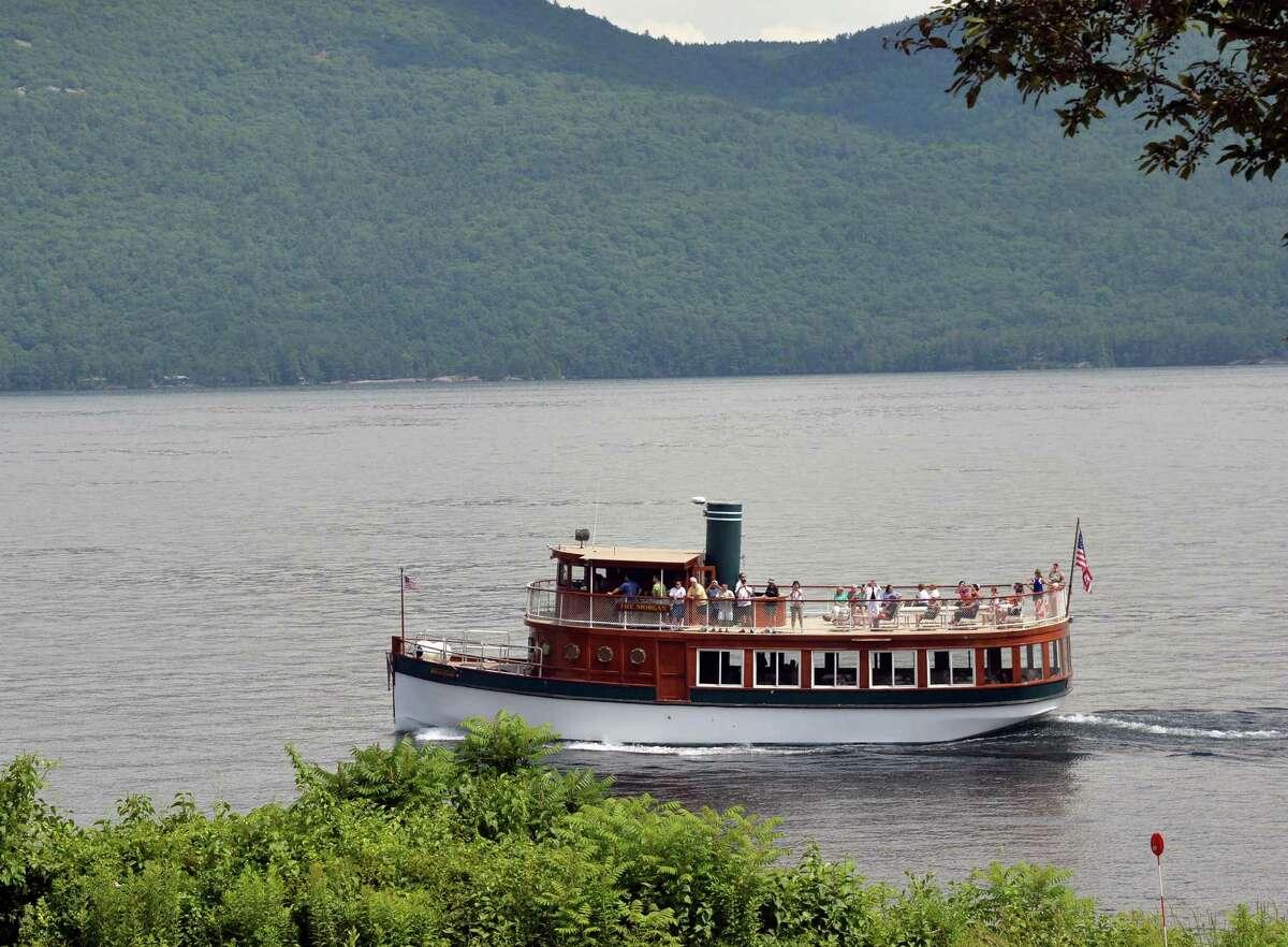 The Morgan tours Lake George at Bolton Landing,NY, Thursday June 27, 2013. (John Carl D'Annibale / Times Union)