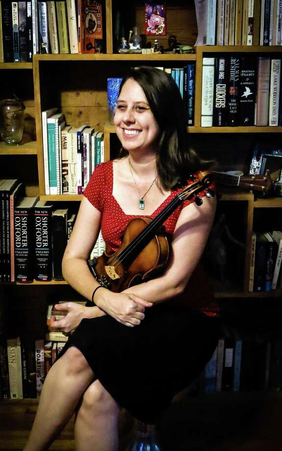 Fiddler Kim Mackenzie says she's not content to play just one style of music. Photo: Courtesy Kim Mackenzie