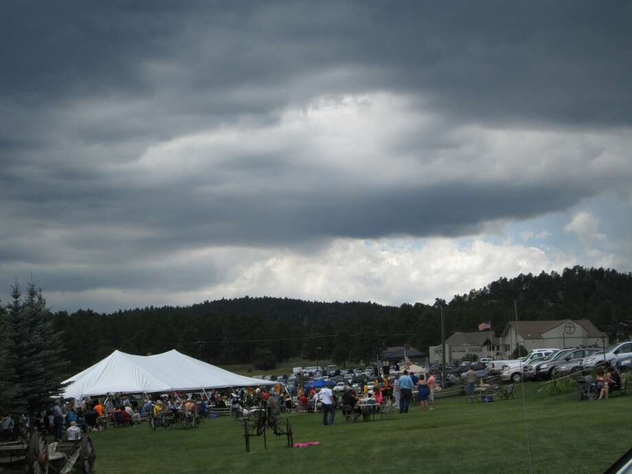 A scene from the Colorado Freedom Festival where Stamford, Conn., singer Annie Nirschel performed in August 2013.