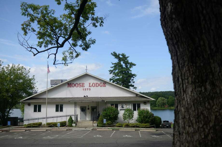 The Moose Lodge in Danbury, Conn., photographed on Tuesday, Sept. 3, 2013.  City officials are considering moving the polling location from Park Avenue School to the Moose Lodge near Lake Kenosia. Photo: Tyler Sizemore / The News-Times