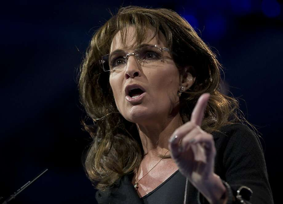 Sarah Palin offers her take on U.S. involvement in Syria's war. Photo: Carolyn Kaster, Associated Press