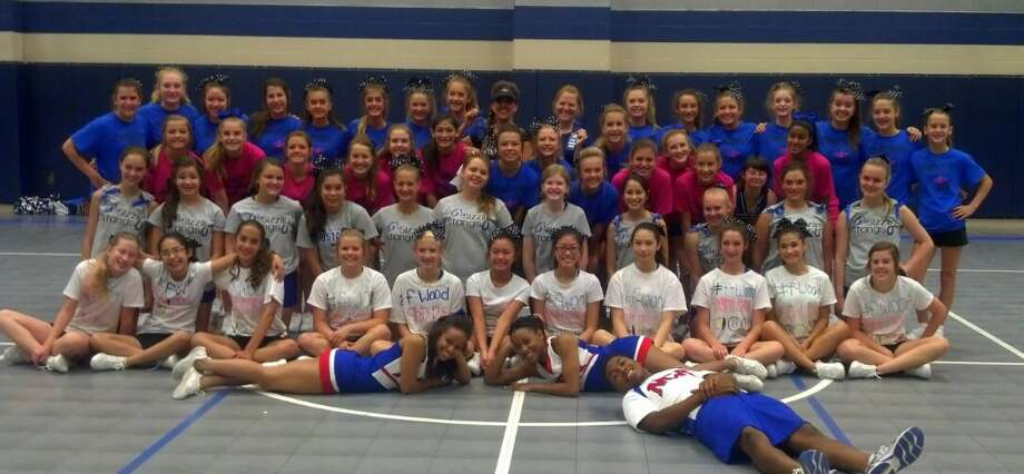 Friendswood Junior High School cheerleaders are holding a fundraiser during September for a trip to a National Cheerleaders Association competition. Photo: Provided By Friendswood Junior High School