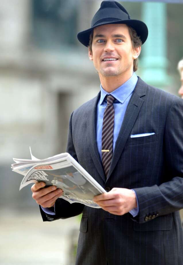 "Matt Bomer sighted filming on location for ""White Collar"" on May 22, 2013 in New York. Photo: Aby Baker, Getty Images"
