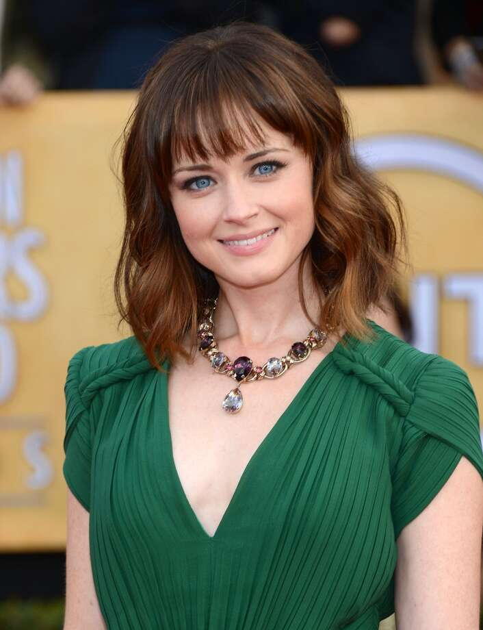 Alexis Bledel attends the 19th Annual Screen Actors Guild Awards at The Shrine Auditorium on January 27, 2013 in Los Angeles. Photo: Jason Kempin, Getty Images