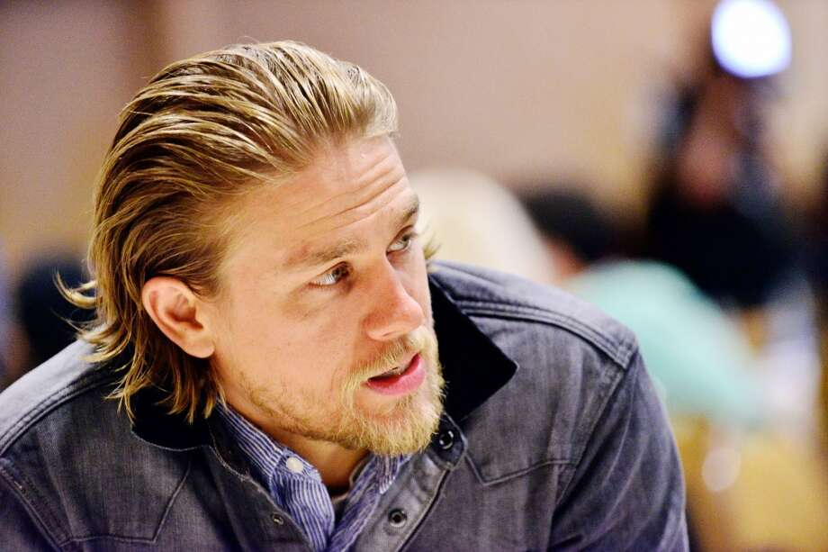 "Actor Charlie Hunnam attends the ""Sons Of Anarchy"" press line at Comic-Con International 2013 at San Diego Convention Center on July 21, 2013 in San Diego. Photo: Jerod Harris, Getty Images"