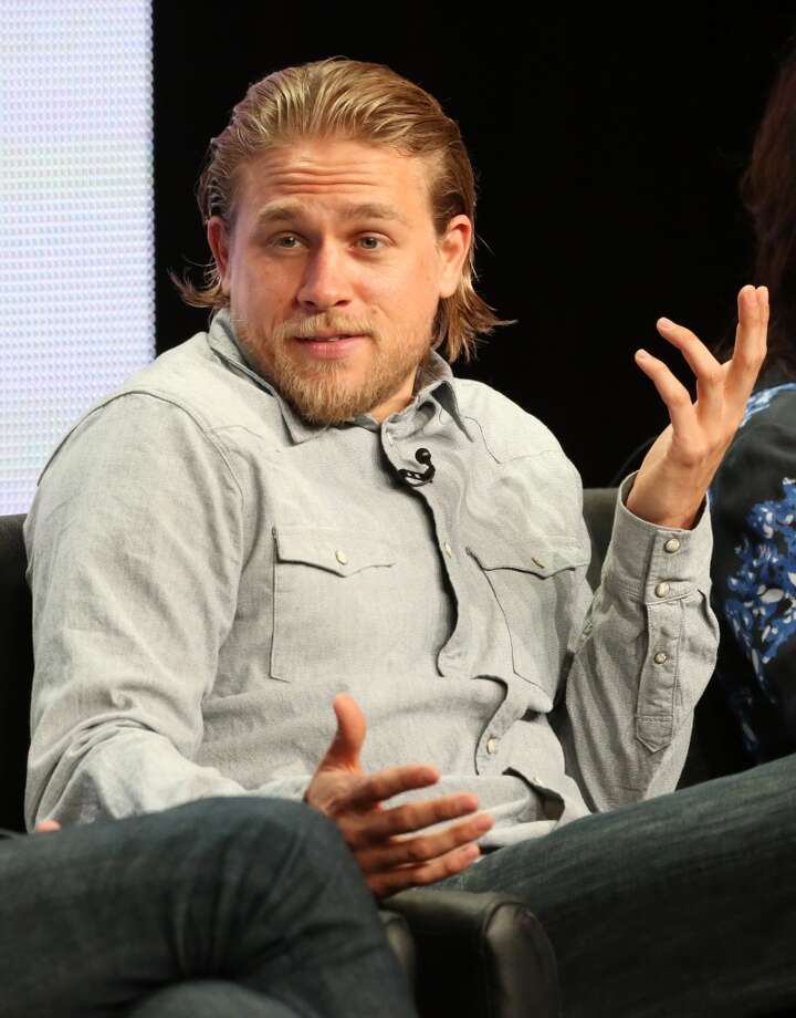 "Actor Charlie Hunnam speaks onstage during the ""Sons of Anarchy"" panel discussion at the FX portion of the 2013 Summer Television Critics Association tour - Day 10 at The Beverly Hilton Hotel on August 2, 2013 in Beverly Hills, Calif. Photo: Frederick M. Brown, Getty Images"