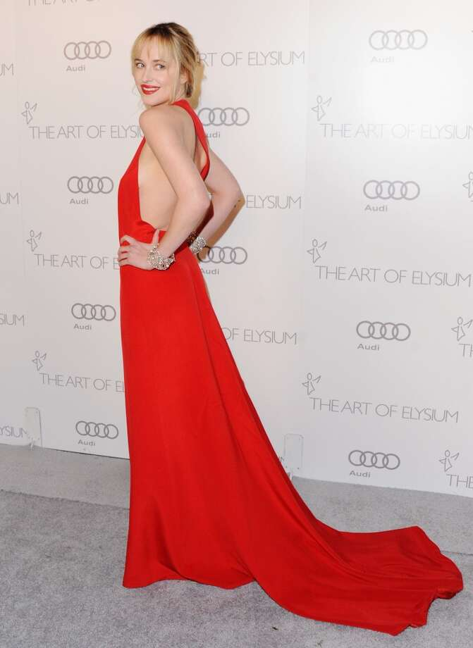 Actress Dakota Johnson arrives at the Art Of Elysium's 6th Annual Heaven Gala on January 12, 2013 in Los Angeles, Calif. Photo: Jon Kopaloff, FilmMagic