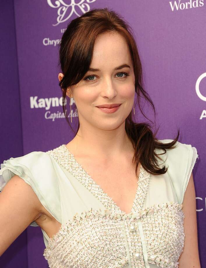 Dakota Johnson attends the 12th annual Chrysalis Butterfly Ball on June 8, 2013 in Los Angeles. Photo: Jason LaVeris, FilmMagic