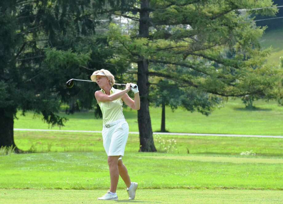 State Women's Senior Amateur winner Sue Kahler of Ballston Spa (Ranelle Graber/NYSGA)