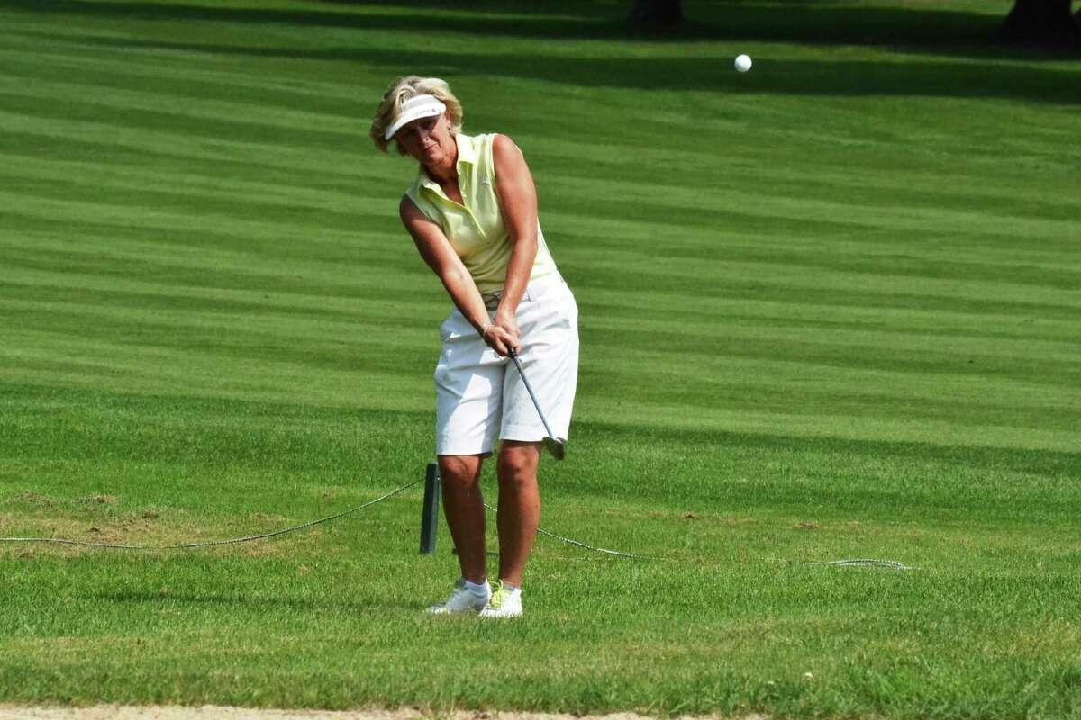State Women's Senior Amateur winner Sue Kahler of Ballston Spa (Ranelle Graber/NYSGA)
