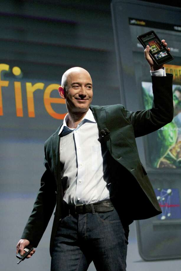 Amazon.com founder Jeff Bezos — FINALIST