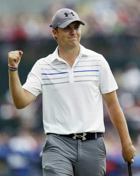Jordan Spieth, who turned pro approximately nine months ago after playing at UT, finds out Wednesday if he makes the United States' Presidents Cup team. Photo: Michael Dwyer / Associated Press