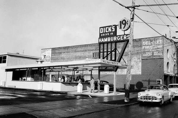 Dick's Drive-In started in Wallingford in 1954, with 19-cent burgers. (Pictured is the Broadway location).
