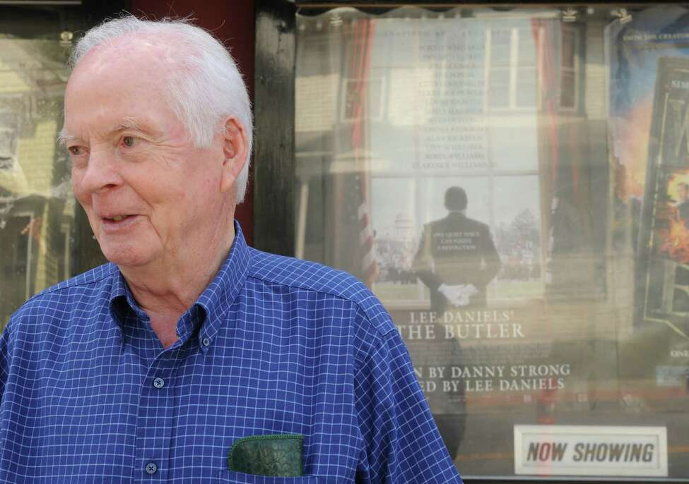Retired Executive Mansion butler Robert Bennett, butler to six governors, outside Spectrum before watching the movie The Butler on Friday Aug. 30, 2013 in Albany N.Y. (Michael P. Farrell/Times Union)