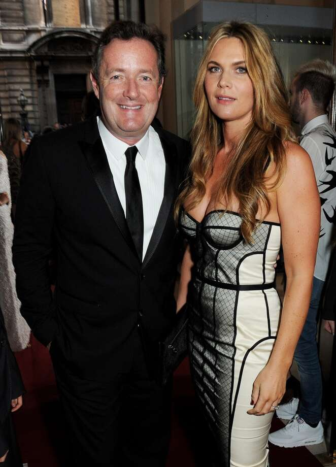 Piers Morgan (L) and Celia Walden arrive at the GQ Men of the Year awards at The Royal Opera House on September 3, 2013 in London, England.  (Photo by David M. Benett/Getty Images) Photo: David M. Benett, Getty Images