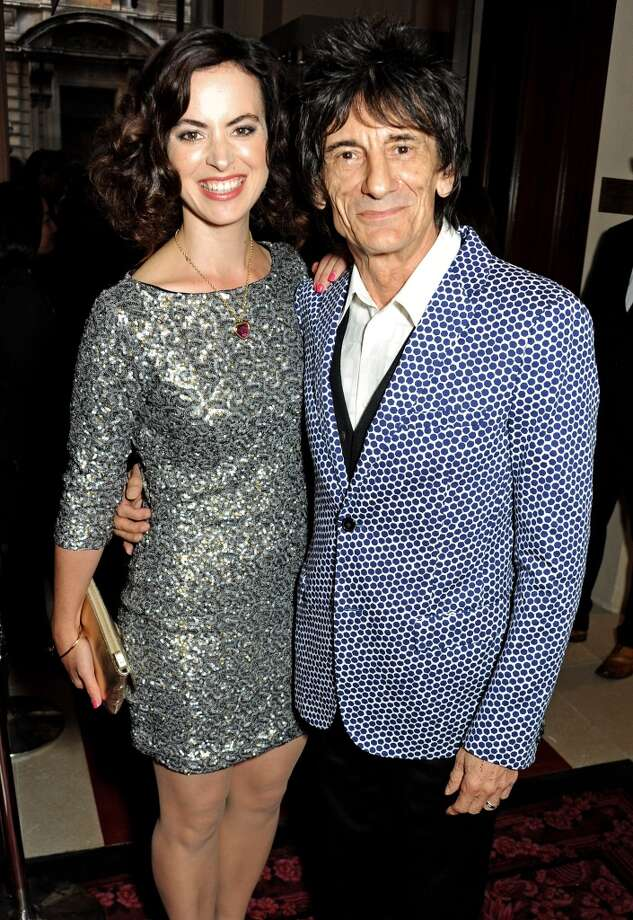 Sally Wood (L) and Ronnie Wood arrive at the GQ Men of the Year awards at The Royal Opera House on September 3, 2013 in London, England.  (Photo by David M. Benett/Getty Images) Photo: David M. Benett, Getty Images