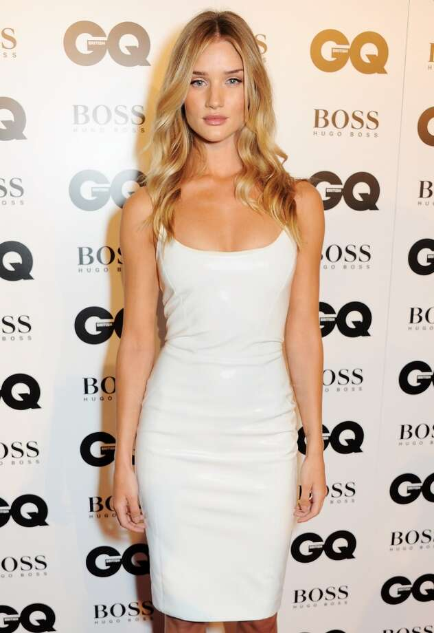 Rosie Huntington Whiteley arrives at the GQ Men of the Year awards at The Royal Opera House on September 3, 2013 in London, England.  (Photo by David M. Benett/Getty Images) Photo: David M. Benett, Getty Images
