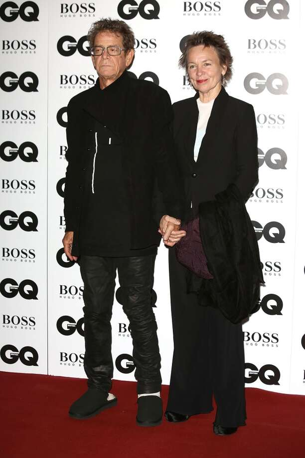 Lou Reed and Laurie Anderson attend the GQ Men of the Year awards at The Royal Opera House on September 3, 2013 in London, England.  (Photo by Tim P. Whitby/Getty Images) Photo: Tim P. Whitby, Getty Images