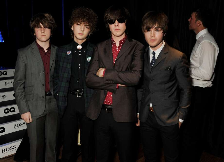 Evan Walsh, Josh McClorey, Ross Farrelly and Pete O'Hanlon of The Strypes attend the GQ Men of the Year awards at The Royal Opera House on September 3, 2013 in London, England.  (Photo by David M. Benett/Getty Images) Photo: David M. Benett, Getty Images