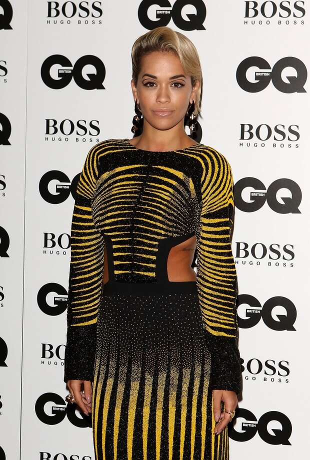 Rita Ora attends the GQ Men of the Year awards at The Royal Opera House on September 3, 2013 in London, England.  (Photo by Tim P. Whitby/Getty Images) Photo: Tim P. Whitby, Getty Images