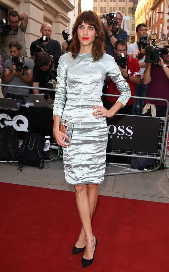Alexa Chung attends the GQ Men of the Year awards at The Royal Opera House on September 3, 2013 in London, England. (Photo by Fred Duval/FilmMagic) Photo: Fred Duval, FilmMagic
