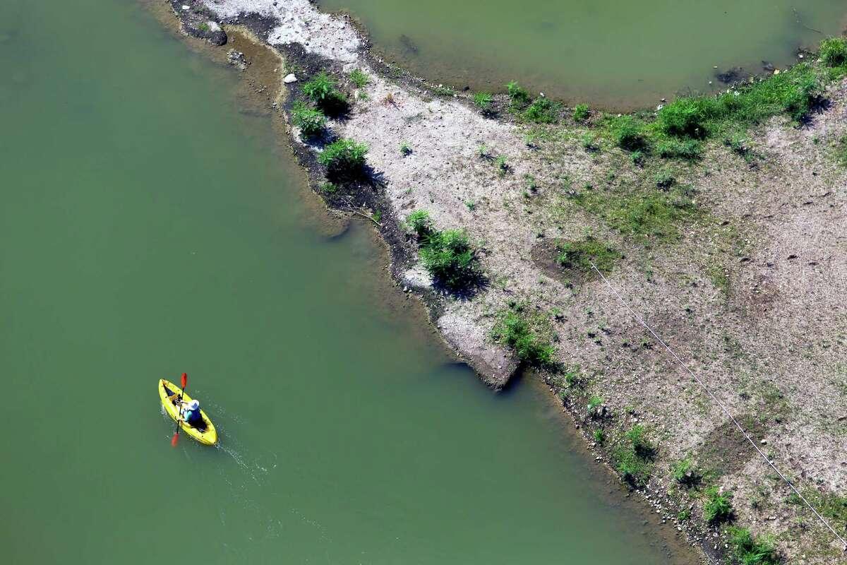 Mission Reach Paddling Trail, San Antonio River San Antonio