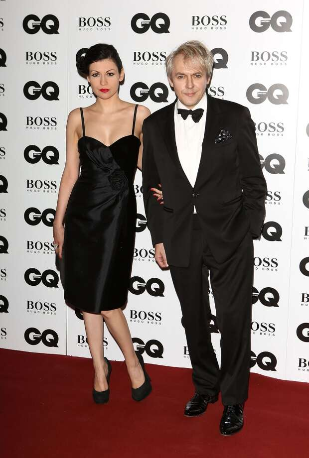 Nefer Suvio and Nick Rhodes attend the GQ Men of the Year awards at The Royal Opera House on September 3, 2013 in London, England.  (Photo by Tim P. Whitby/Getty Images) Photo: Tim P. Whitby, Getty Images