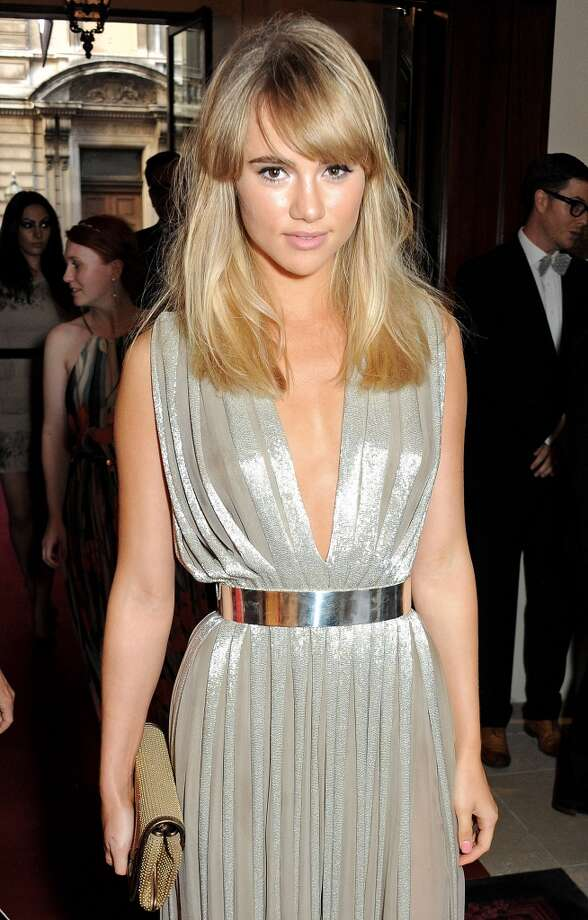 Suki Waterhouse arrives at the GQ Men of the Year awards at The Royal Opera House on September 3, 2013 in London, England.  (Photo by David M. Benett/Getty Images) Photo: David M. Benett, Getty Images