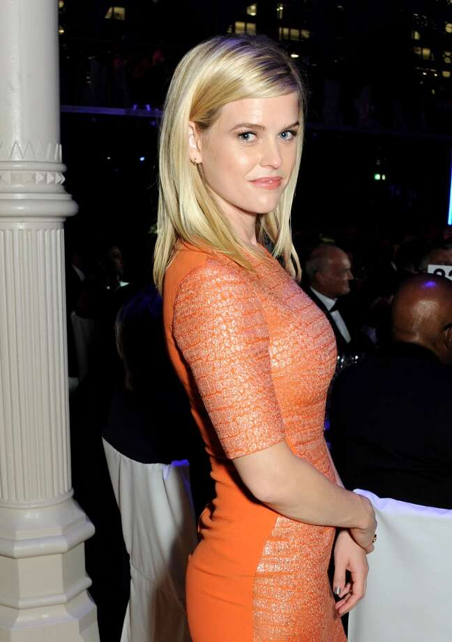 Alice Eve attends the GQ Men of the Year awards at The Royal Opera House on September 3, 2013 in London, England.  (Photo by David M. Benett/Getty Images) Photo: David M. Benett, Getty Images