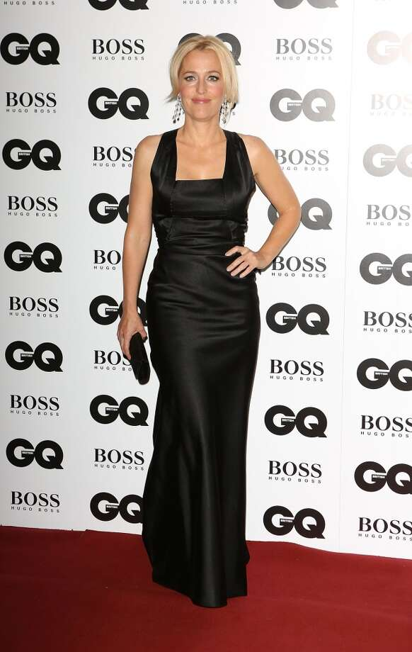 Gillian Anderson attends the GQ Men of the Year awards at The Royal Opera House on September 3, 2013 in London, England.  (Photo by Tim P. Whitby/Getty Images) Photo: Tim P. Whitby, Getty Images