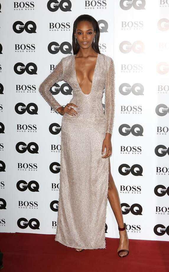 Jourdan Dunn attends the GQ Men of the Year awards at The Royal Opera House on September 3, 2013 in London, England.  (Photo by Tim P. Whitby/Getty Images) Photo: Tim P. Whitby, Getty Images