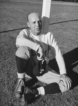 Circa 1940s - Dana Bible, coach of the University of Texas football team.  (Photo by George Strock//Time Life Pictures/Getty Images) Photo: George Strock, Time & Life Pictures/Getty Image / Time Life Pictures