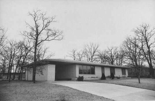 Circa 1950s - A home near Texas A&M College which is ready, rent-free, for whoever takes the job of football coach at the college.  (Photo by Thomas D. Mcavoy//Time Life Pictures/Getty Images) Photo: Thomas D. McAvoy, Time & Life Pictures/Getty Image / Time & Life Pictures