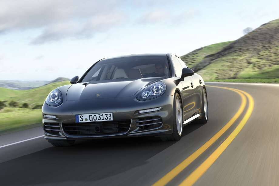 The Panamera sedan will come in three new variants later this fall: the S E-Hybrid, Porsche's first plug-in hybrid; and two executive versions of the Panamera 4S and Turbo models that are longer and come with a new 3.0-liter turbocharged V6 engine that gets 420 horsepower. The base Panamera starts at $78,100. The hybrid is $99,000, while the Executive 4S is $125,600. The lineup tops out at $161,100 with the Executive Turbo.