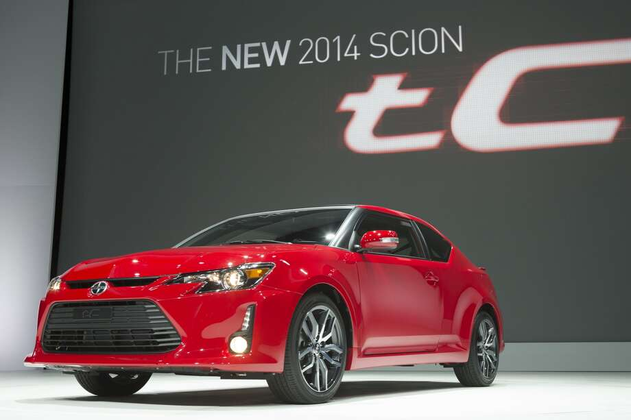 The 2014 Scion tC sports coupe, which went on sale in June, has sportier, more aggressive styling thanks to its bigger grille, narrower headlights and 18-inch wheels. Inside, a 6.1-inch touchscreen audio system is standard. It gets an estimated 23 mpg in the city and 31 mpg on the highway. The tC coupe starts at $19,965.