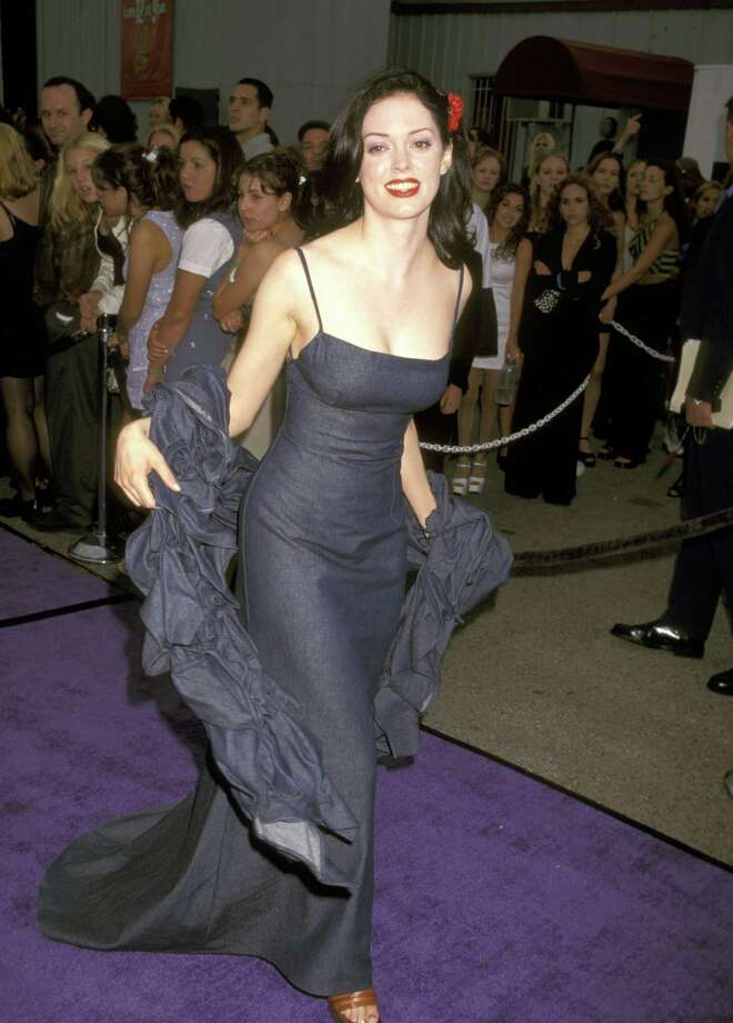1997: McGowan attends the MTV Movie Awards in Santa Monica, Calif. Photo: Ron Galella, / / Ron Galella Collection