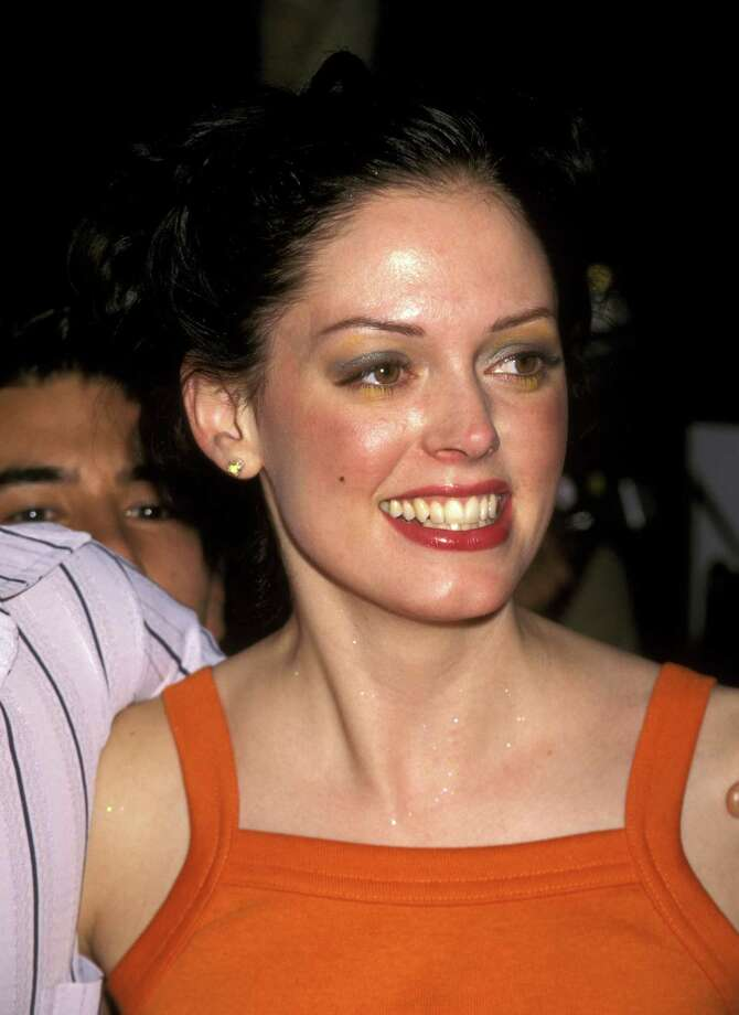 """1997: McGowan pictured during Premiere of """"Nowhere"""" in Los Angeles. Photo: Ron Galella, / / Ron Galella Collection"""