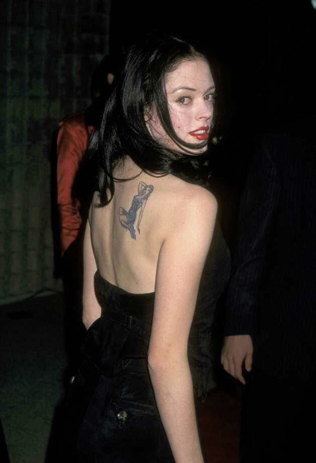 "1996: McGowan pictured during the ""Scream"" premiere in Los Angeles. Photo: Ron Galella, / / Ron Galella Collection"