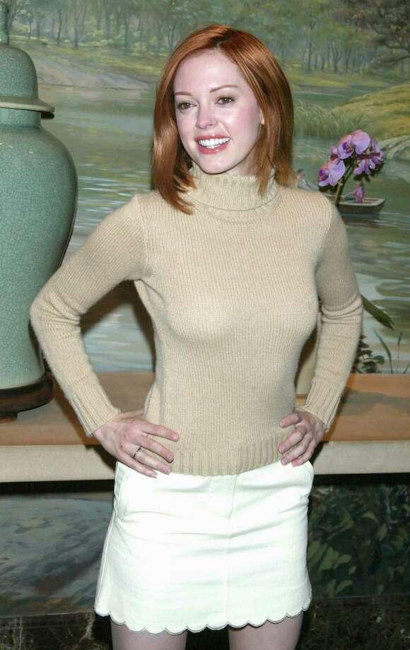 2002: McGowan, pictured at an unspecified event. Photo: Jim Spellman, / / WireImage