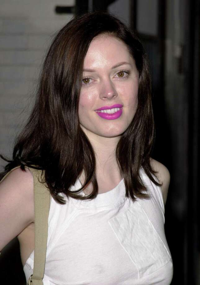 2001: McGowan at an unspecified event. Photo: Jeff Vespa, / / WireImage