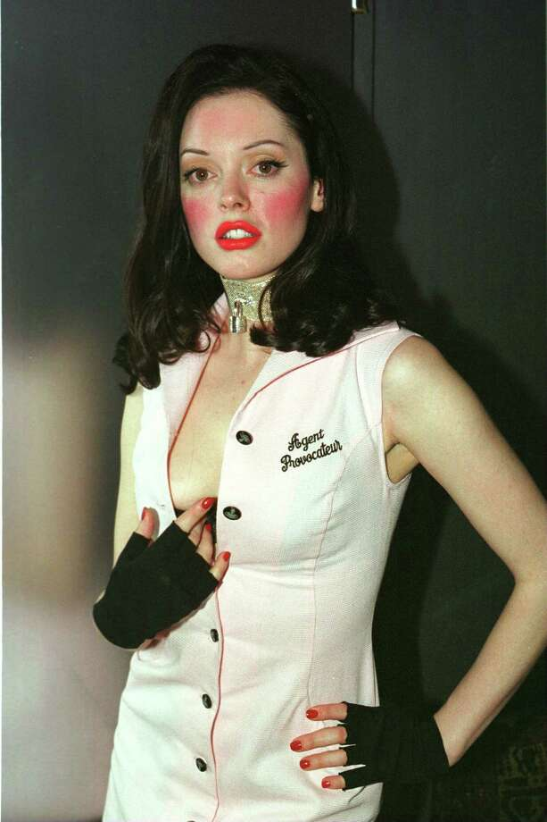 Though, sometimes blush can go awry. Right, Rose McGowan? Photo: Chris Morton, / / Hulton Archive