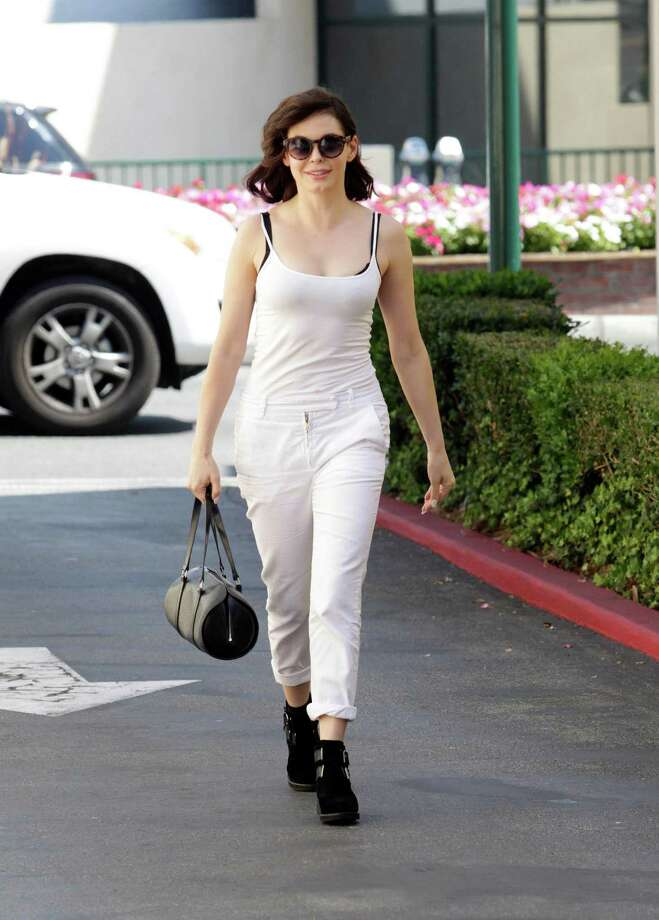 2013: McGowan seen in Los Angeles. Photo: SMXRF/Star Max, / / 2013 Star Max