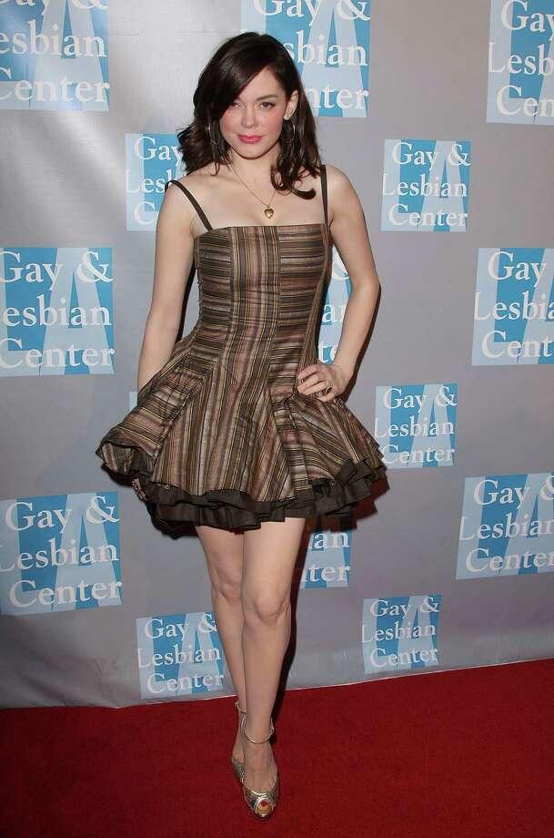 2009: McGowan in Beverly Hills, Calif. Photo: Jason Merritt, / / 2009 Getty Images