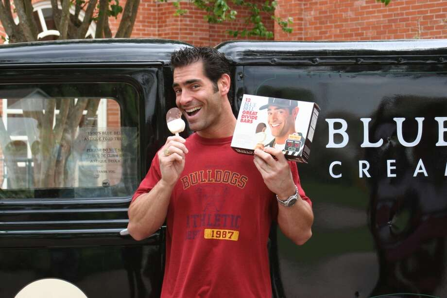 Billy Machupa, featured on the Great Divide Bars box.  (Photo: Blue Bell Ice Cream)