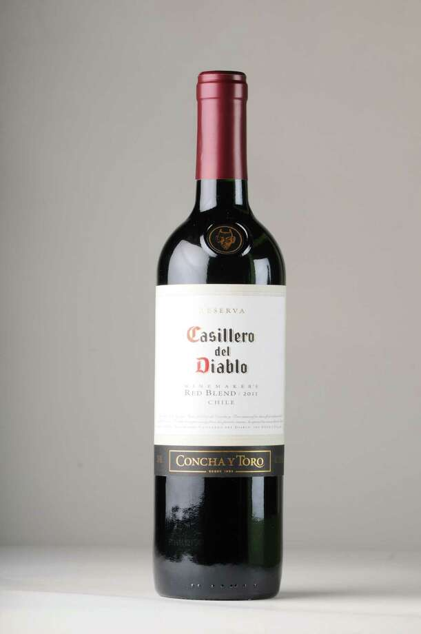 Casillero del Diablo 2011 red blend Wednesday, July 10, 2013. (Will Waldron/Times Union)