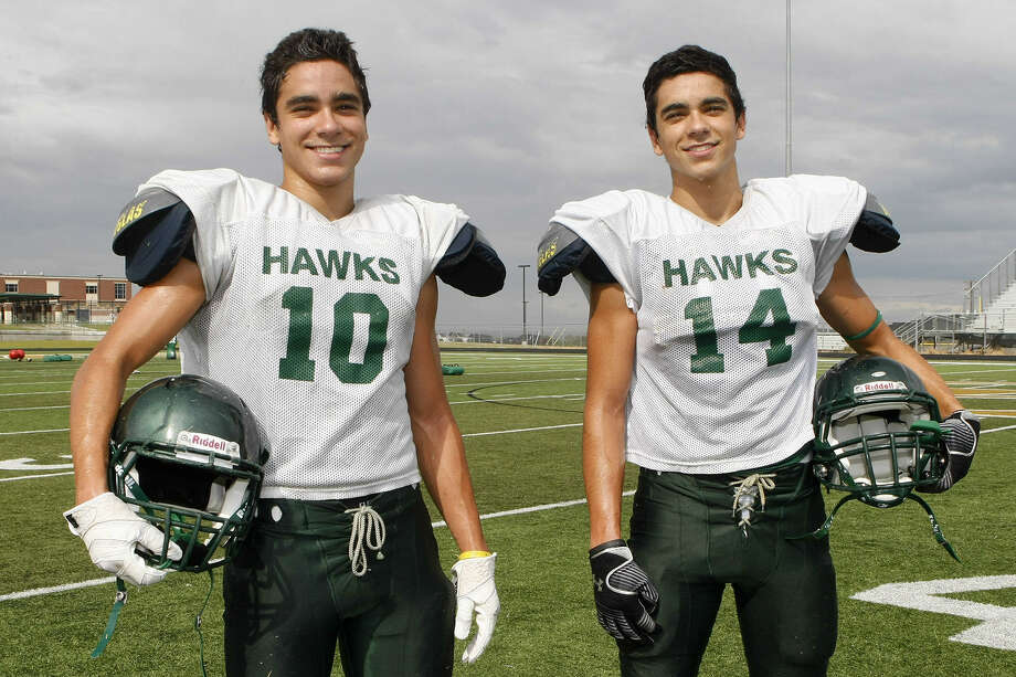 Canyon Lake twins Javier Mendez and Isaac Mendez, who made a name for themselves in the secondary last year, are poised to take on bigger offensive roles this year. Photo: Marvin Pfeiffer / Bulverde News